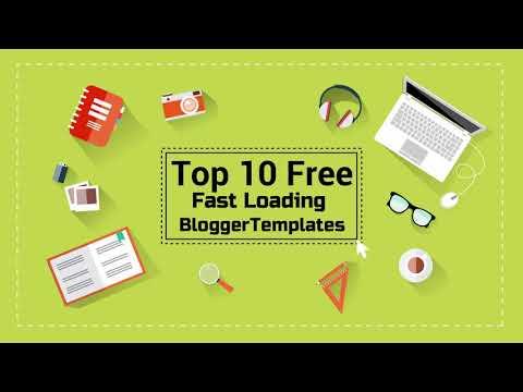 10 Fast Loading Responsive Blogger Templates