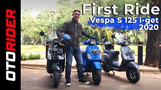 Vespa S 125 i-get 2020 Banyak Ubahan Baru | First Ride - Indonesia