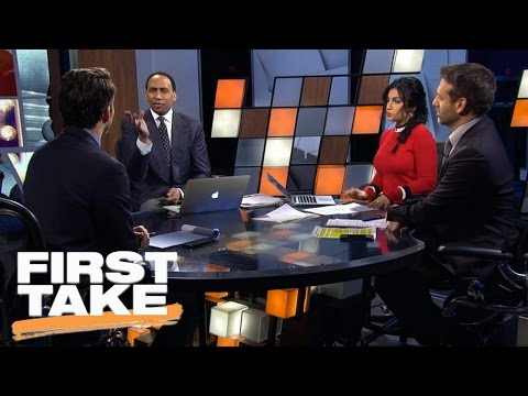 Is Jerry Jones Holding On To Tony Romo To Steal Headlines? | First Take | March 13, 2017