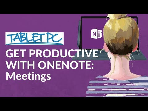 Get Productive with OneNote: Take meeting notes to the next level!