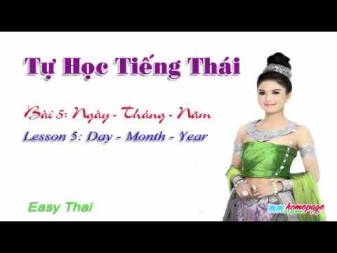 Giáo trình tiếng Thái Thai for beginners bài 5