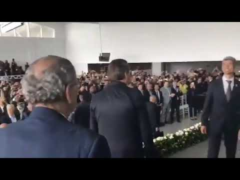 Bolsonaro é ovacionado na Bahia