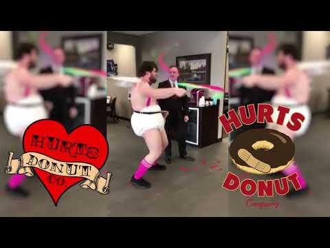 Hurts Donut delivery Cupid - Pour some sugar on me, Literallyиз YouTube · Длительность: 1 мин12 с