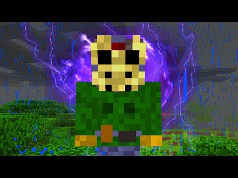 We summoned something bad in Minecraft on Friday the 13th.. (Scary Minecraft Video)