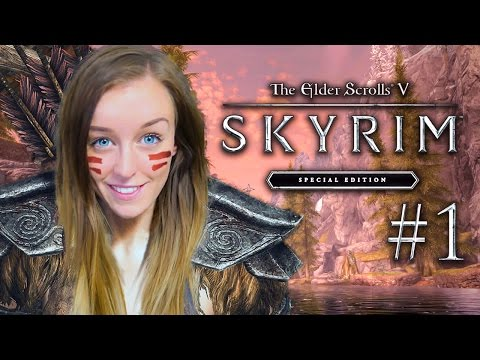 SKYRIM SPECIAL EDITION! - FIRST LOOK EARLY GAMEPLAY!