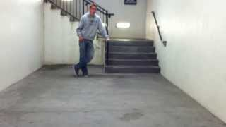 Halo 3 Theme Song in Stairwell