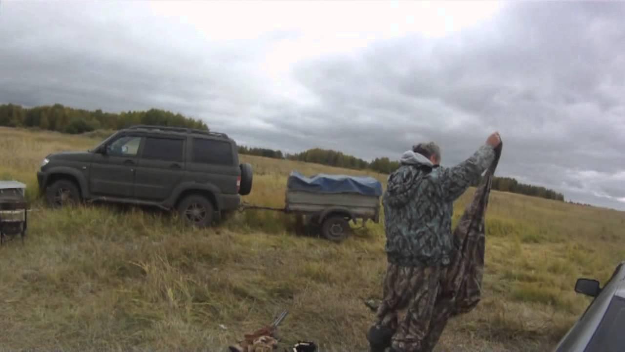 Охота на утку сезон 2015. Омск 4-5 октября, в ожидании