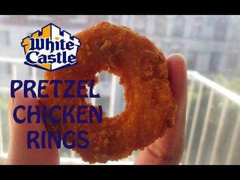 White Castle's NEW Pretzel Chicken Rings On Let's Get Greedy! Food Review #15