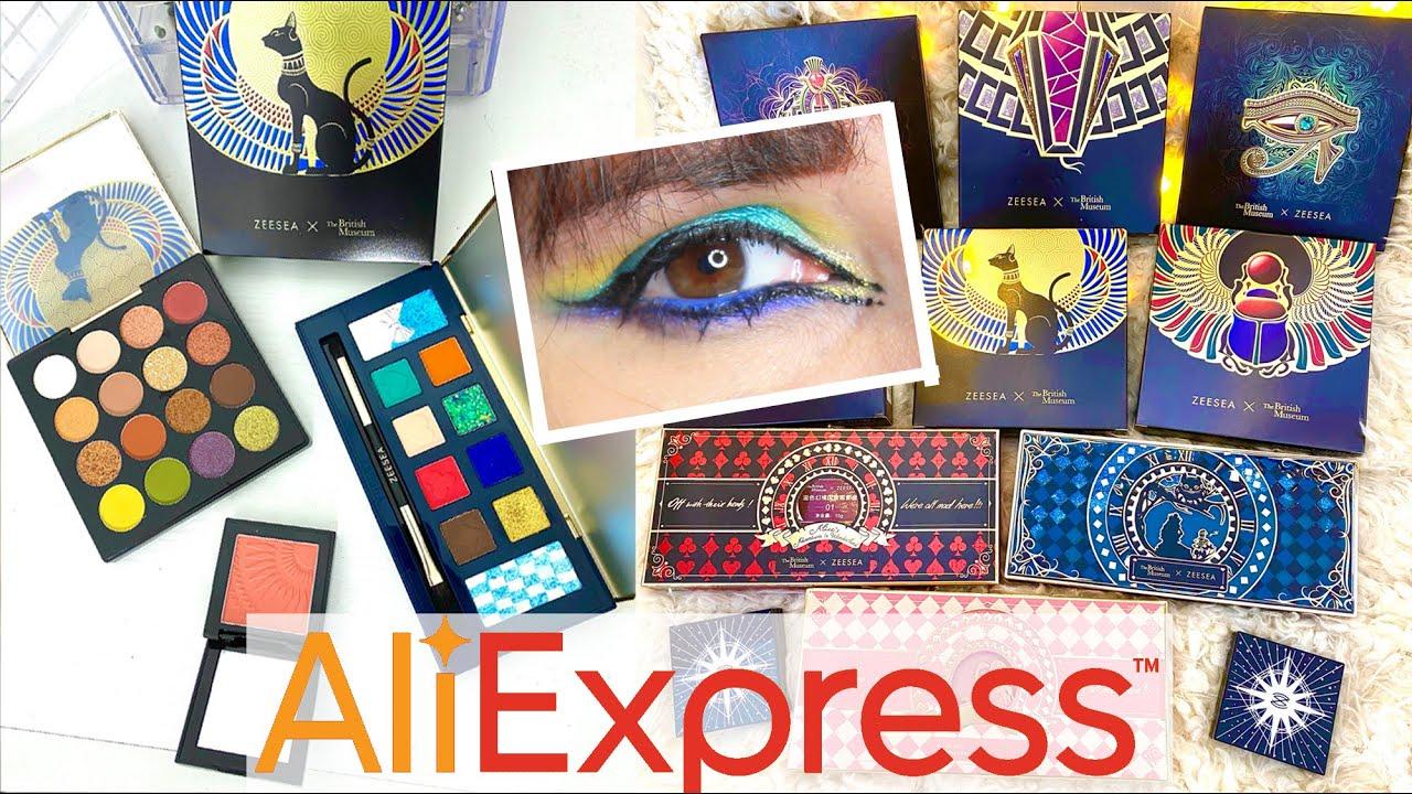 UNBOXING Surprise Aliexpress ! ZEESEA Des palettes de ouf !!!