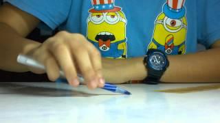 Hương Đêm Bay Xa _ Pen Tapping by Bing (One Hand)