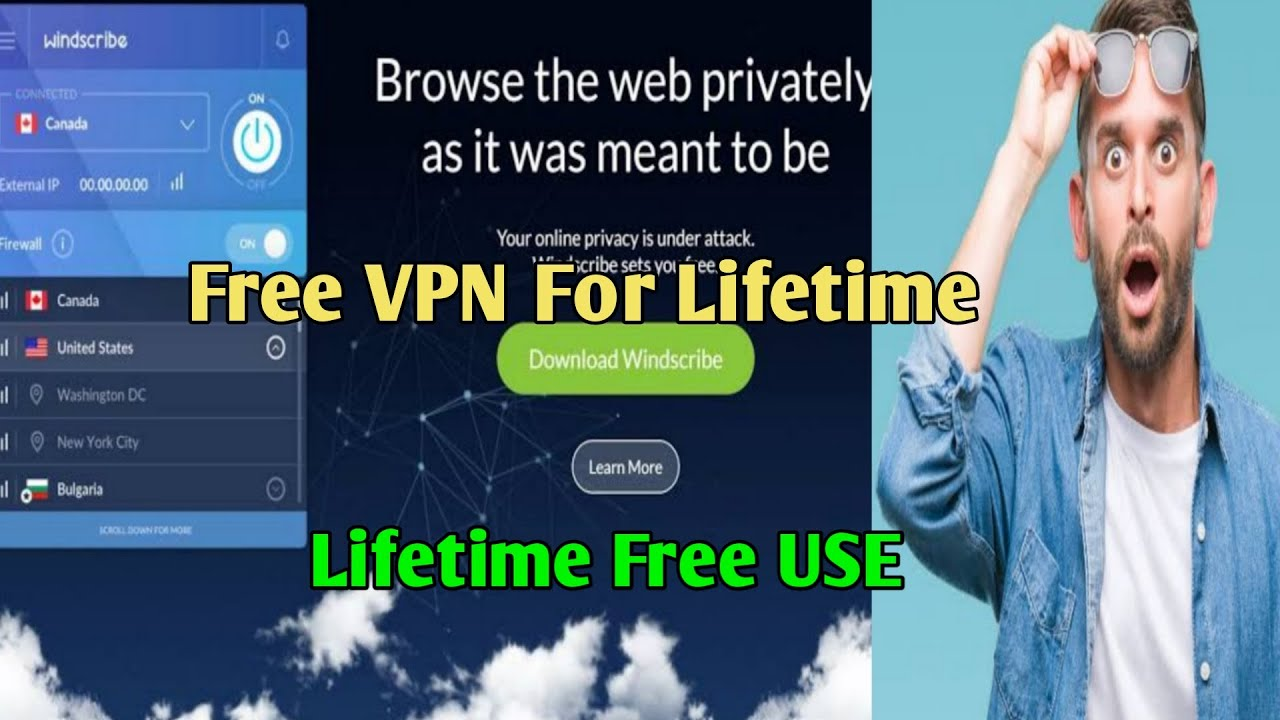 Windscribe Vpn Account Create For Free Use Youtube