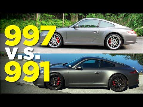 Porsche 911: The 991 vs 997