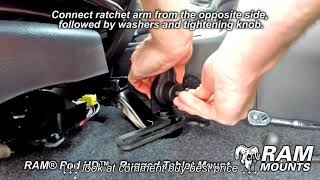RAM® Pod HD™ Installation Guide   Rugged Vehicle Tablet Mount