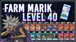 How to Farm LVL 40 Yami Marik F2P & NO UNION [Yu-Gi-Oh! Duel Links]