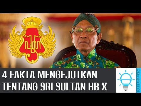 WONG JOGJO KUDU NGERTI!!! 4 Fakta Tentang Sri Sultan HB X