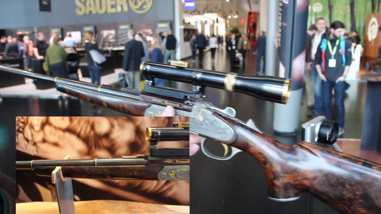 NEW single shot rifle Prinz No 1 - IWA 2017