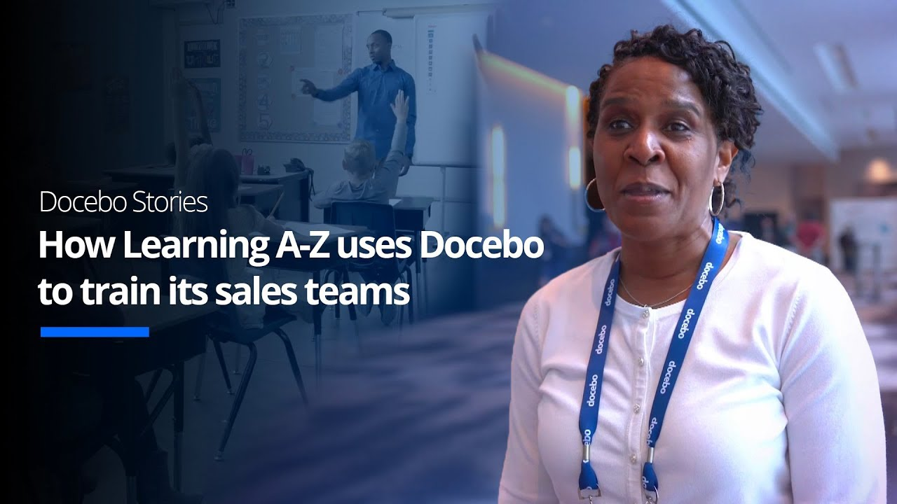 How Learning A-Z uses the Docebo Learning Platform to train its sales teams