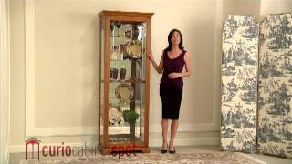 Pulaski Model 20719 Curio Cabinet