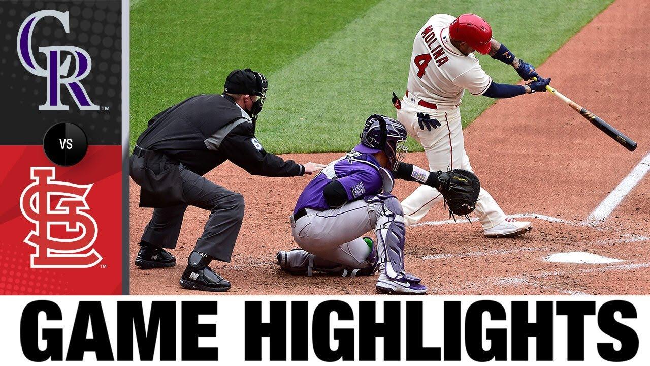 Download Rockies vs. Cardinals Game Highlights (5/8/21) | MLB Highlights