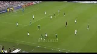 عبدالملك الخيبري يغربل لاعبين العراق - السعودية 1×0 العراق - تصفيات كاس العالم 2018