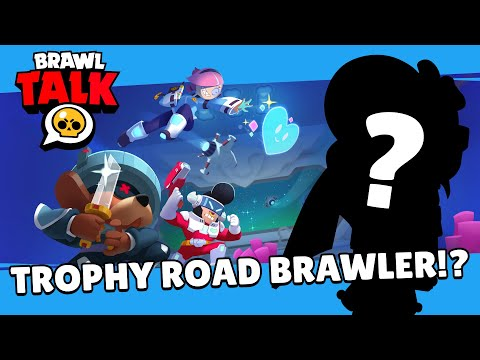 Brawl Stars: Brawl Talk! - Power League, Trophy Road Brawler, and Seasonal Rewards!