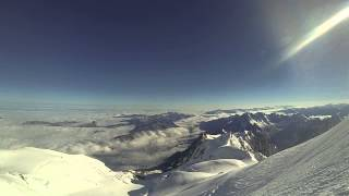 Mont Blanc Summit Ridge - GoPro