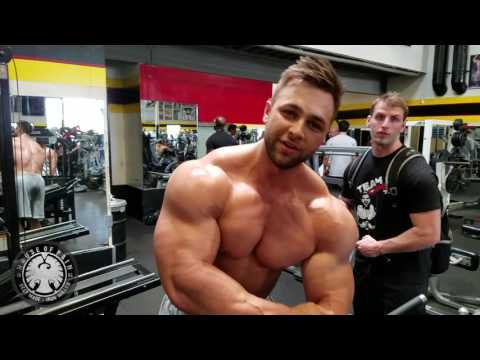 Arm Blast with Regan Grimes at Golds Gym Venice - Iron Diaries (DigitalMuscle.com)