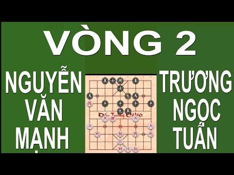 #cotuong Vòng 2 đối đầu CLB Tràng An NGUYỄN VĂN MẠNH Và CLB Phương Phiêu TRƯƠNG NGỌC TUẤN