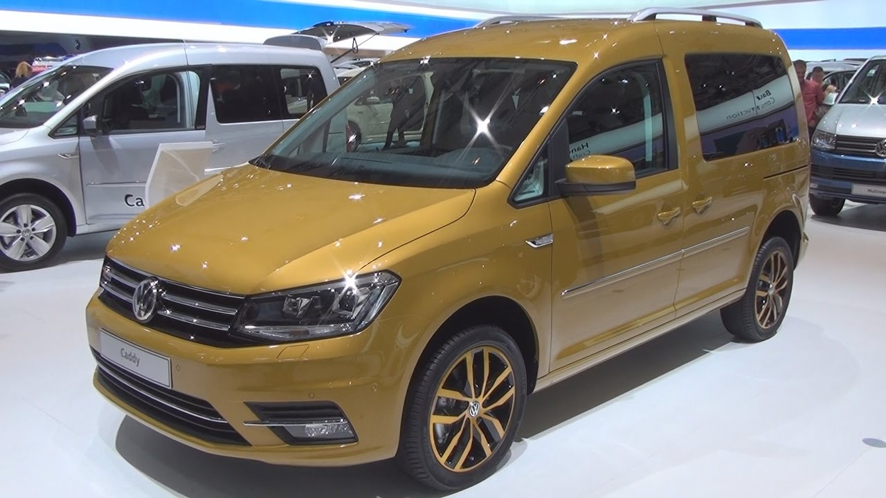 volkswagen caddy highline 2 0 tdi bluemotion 110 kw 2017 exterior and interior in 3d youtube. Black Bedroom Furniture Sets. Home Design Ideas