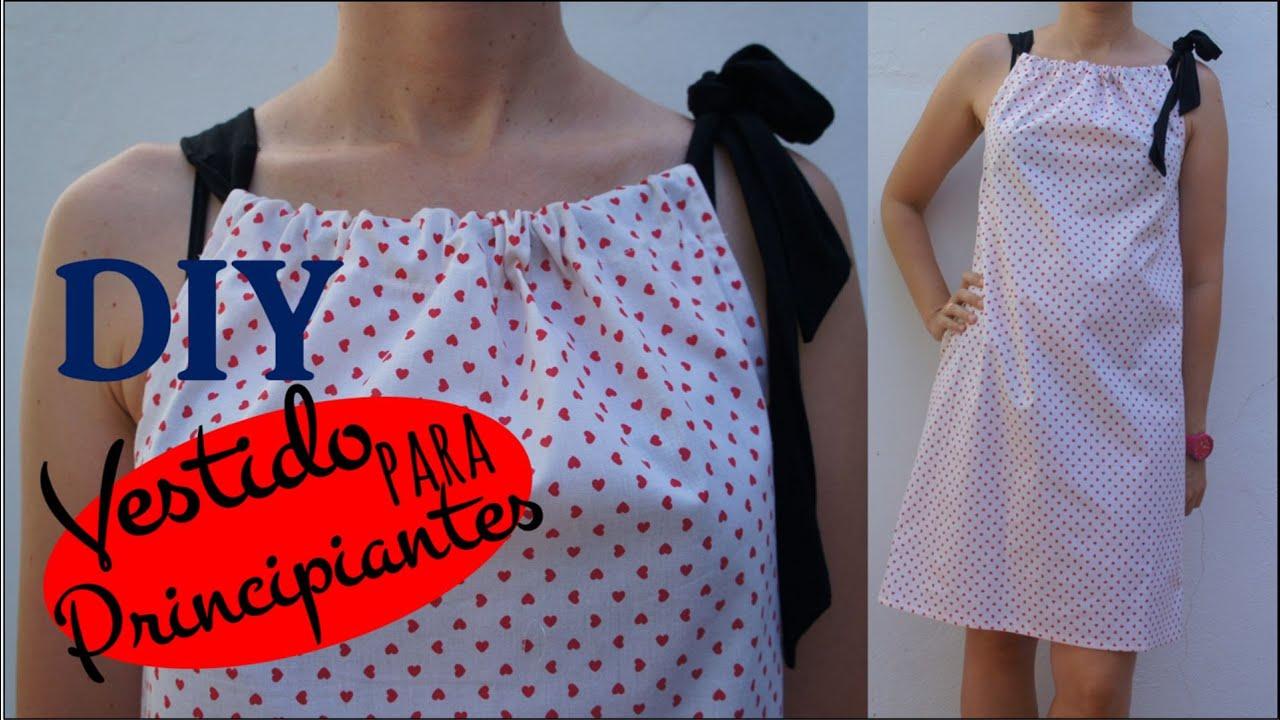 Tutorial diy vestido pillow dress para principiantes - Patchwork para principiantes patrones ...
