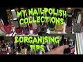 My NailPolish and Lipstick Collections Organising Tips For NailPolish and Lipstick Lovers