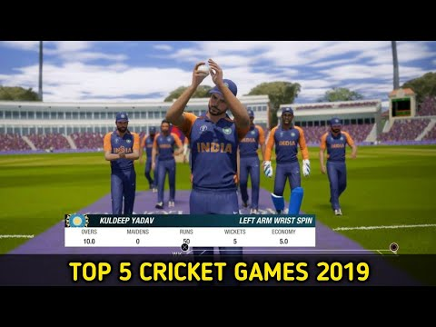 Top 5 High Graphics Cricket Games For Android 2019
