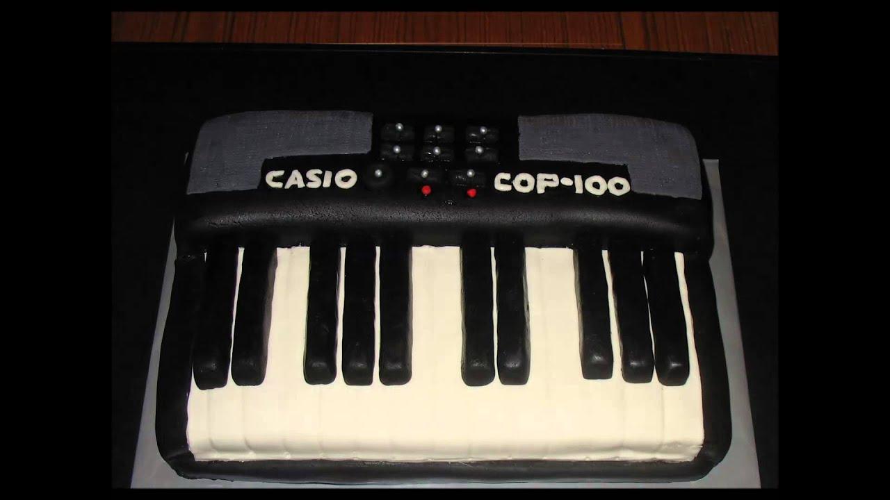 Keyboard Piano Cake Youtube