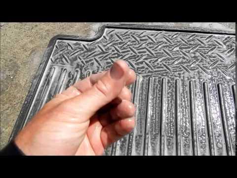 Detailing Rubber Car Floor Mats
