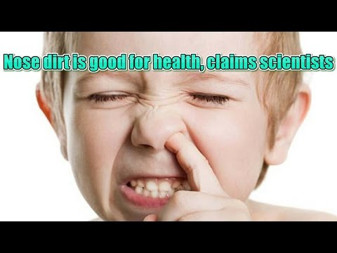 Nose dirt is good for health | Reporter Amra | নাকের ময়লা খাওয়া স্বাস্থ্যের জন্য ভালো