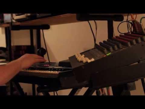 EDK Making a Hip-Hop Beat on the Ensoniq EPS (Video 1)