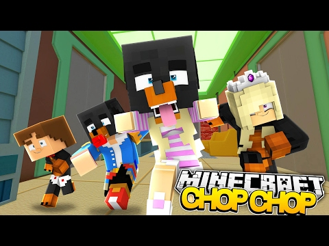 Minecraft CHOP CHOP - LITTLE DONNY & BABY LEAH'S FIRST EVER CHOP CHOP - Donut the Dog