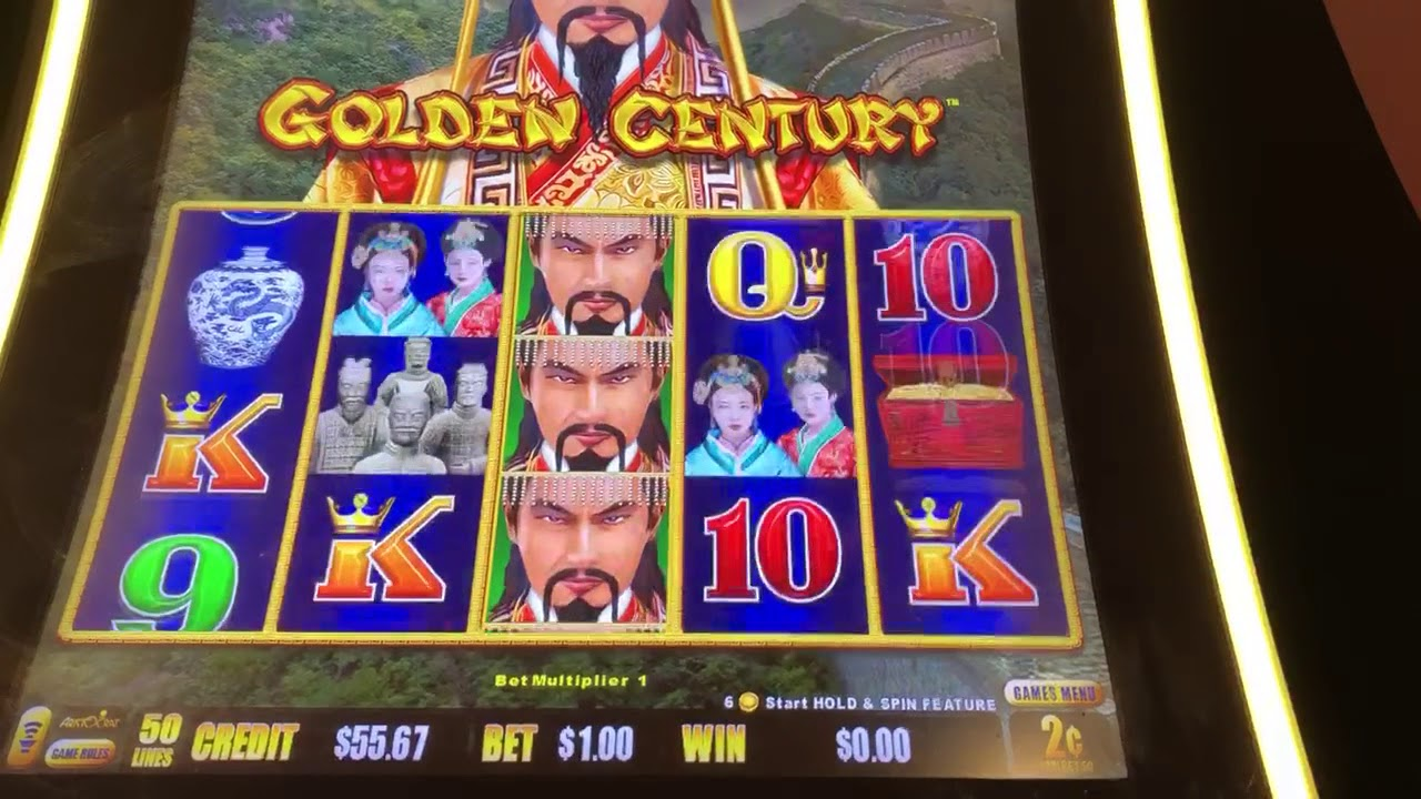 Live play on dragon link golden century slot machine - YouTube