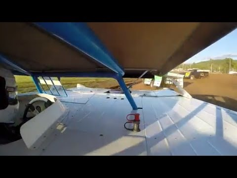 Justin Smith #22 | In-Car Camera | McKean County Raceway | 6-14-14