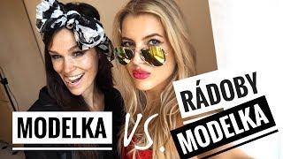 Modelka vs. rádoby modelka 2.   Jitka Nováčková