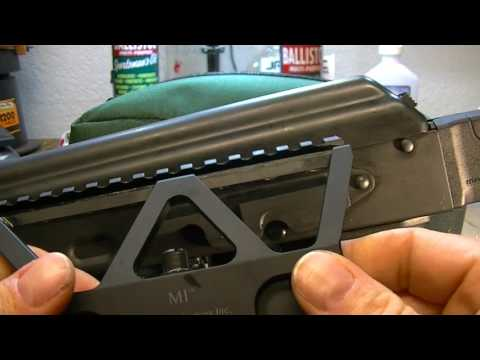 Midwest Industries AK-47 Optic Mount - YouTube