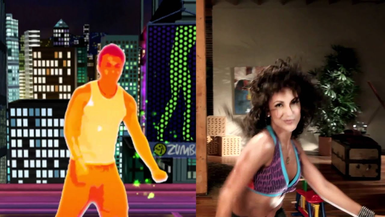 Zumba fitness video game commercial youtube for Living room zumba