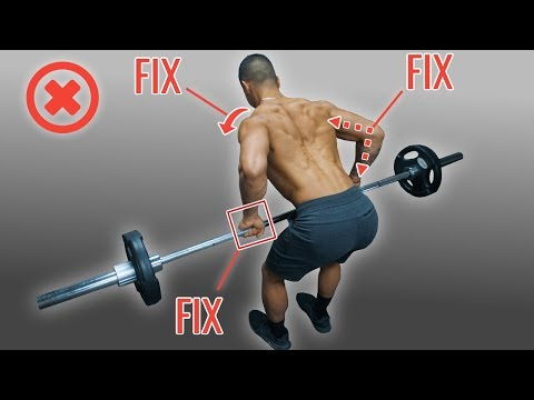 How To PROPERLY Barbell Row For A Bigger Back (Stop Making These Mistakes!)