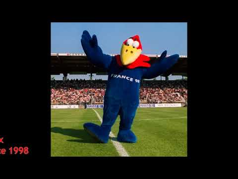 The Evolution Of FIFA World Cup Maskot 1966-2018