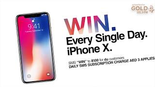 You can be the next iPhone X winner