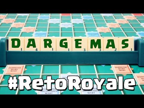 ¡¡DAR GEMAS!! Jugando al Scrabble como #RetoRoyale | Clash Royale con TheAlvaro845 | Español