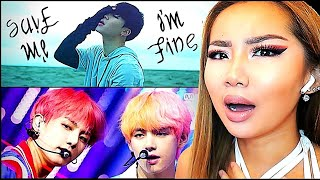 INCREDIBLE VOCALS! 😮 BTS 'SAVE ME & I'M FINE' 🙏 MV & LIVE COMEBACK STAGE | REACTION/REVIEW