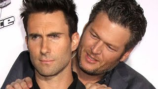 The Truth About Adam Levine And Blake Shelton's Relationship