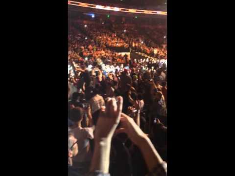 Frankie Edgar UFC Fight Night 57 Walk Out