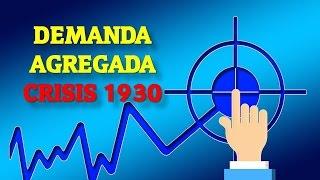 MACROECONOMIA - CRISIS 1930 y la DEMANDA AGREGADA (Clásica)